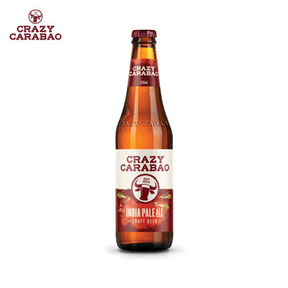 Picture of Crazy Carabao IPA Craft Beer 330ml bottle case