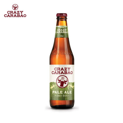 Picture of Crazy Carabao Pale Ale Craft Beer 330ml bottle case