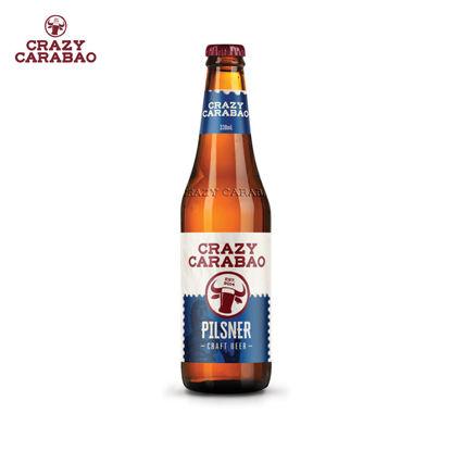 Picture of Crazy Carabao Pilsner Craft Beer 330ml bottle case