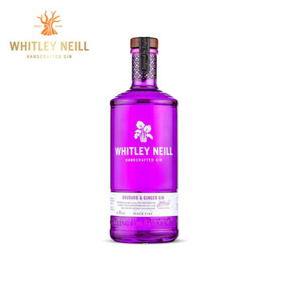 Picture of Whitley Neill Rhubarb and Ginger 43% 700ml