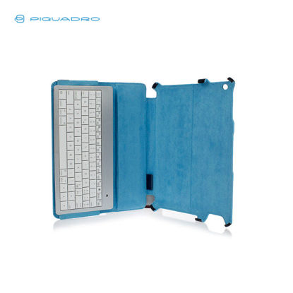 Picture of PIQUADRO BLUE SQUARE IPAD LEATHER CASE