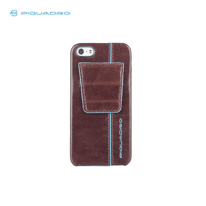 Picture of PIQUADRO BLUE SQUARE IPHONE5 LEATHER SHELL