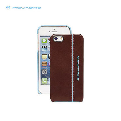Picture of PIQUADRO BLUE SQUARE SHELL FOR IPHONE 5 AND 5S