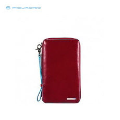 Picture of PIQUADRO BLUE SQUARE IPHONE5C« LEATHER SHELL CASE