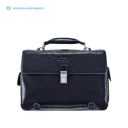 Picture of PIQUADRO BLUE SQUARE BRIEFCASE IPAD, PEN, UMBRELLA