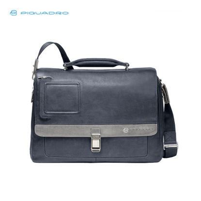 Picture of PIQUADRO VIBE EXPANDABLE ORGANIZED BRIEFCASE