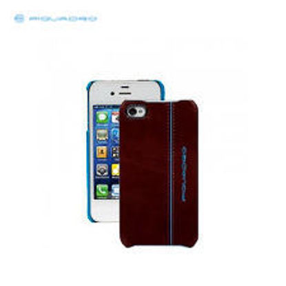 Picture of PIQUADRO BLUE SQUARE LEATHER SHELL SAMSUNG GALAXY