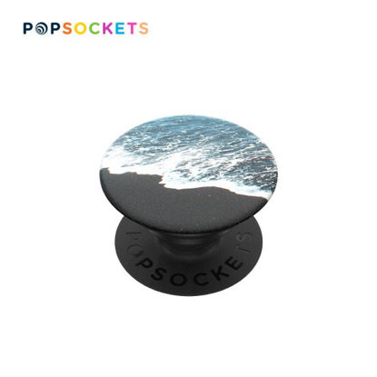 Picture of PopSockets PopGrip Black Sand Beach