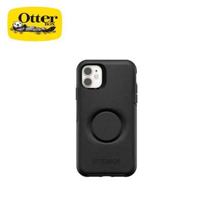Picture of OtterBox Otter + Pop Symmetry Series for iPhone 11 (Black)
