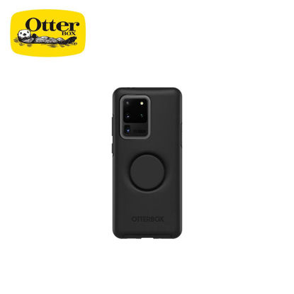 Picture of OtterBox Otter + Pop Symmetry Series for Samsung Galaxy S20 Ultra (Black)