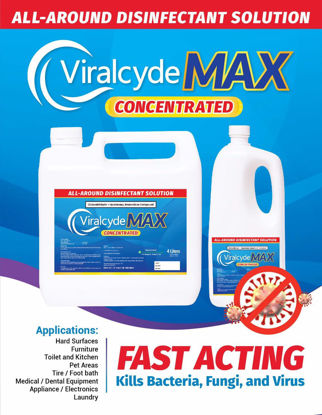 Picture of Viralcyde Max  All-around Disinfectant Concentrate- 1 Liter