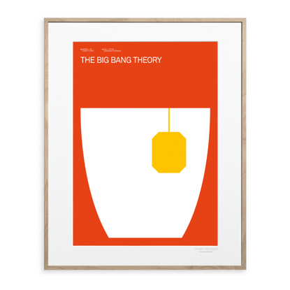 Picture of IMAGE REPUBLIC 30x40 cm EXERGIAN TV THE BIG BANG THEORY EXERGIAN