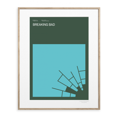 Picture of IMAGE REPUBLIC 30x40 cm EXERGIAN TV BREAKING BAD EXERGIAN