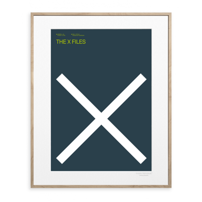 Picture of IMAGE REPUBLIC 30x40 cm EXERGIAN TV THE X FILES EXERGIAN