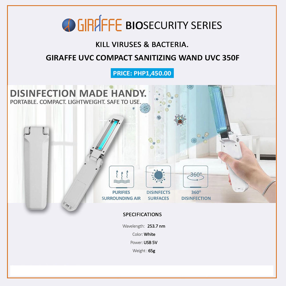 Picture of Giraffe UVC Portable Sanitizing Wand -UVC-350F