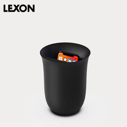 Picture of LEXON Oblio 10W Wireless Charging Station with UV Sanitizer - Black