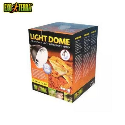 "Picture of Exo Terra Aluminum UV Reflector Lamp Light Dome 5.5"""