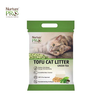 Picture of Nurture Pro Tofu Cat Litter Green Tea 6L