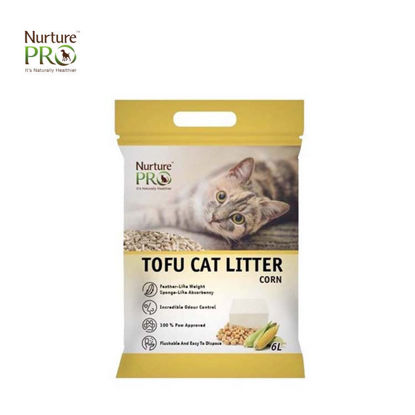 Picture of Nurture Pro Tofu Cat Litter Corn 6L