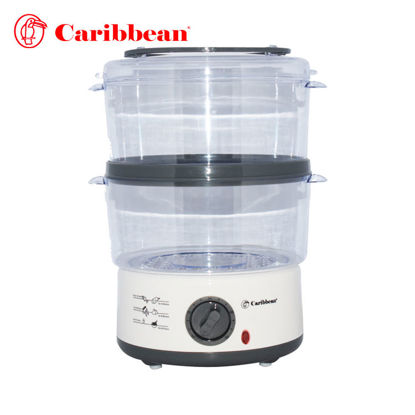 Picture of Caribbean 2 Layer Plastic Steamer CPS-2005 W
