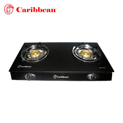 Picture of Caribbean Double Burner Gas Stoves DGT-2017