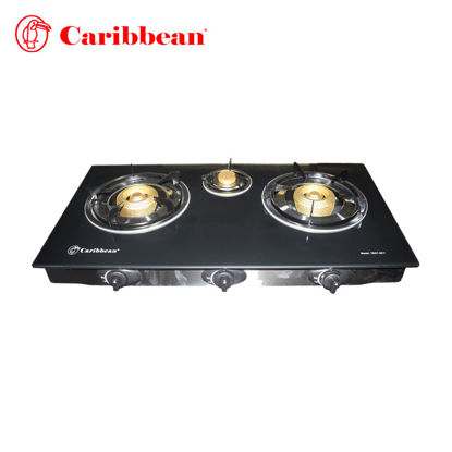 Picture of Caribbean Triple Burner Gas Stove TBGT-2017
