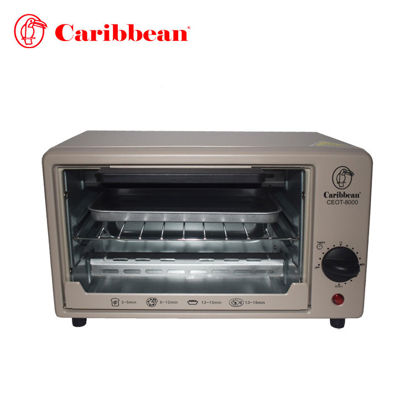 Picture of Caribbean Oven Toaster CEOT-8000 Matte Grey