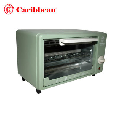 Picture of Caribbean Oven Toaster CEOT-8000 Matte Green