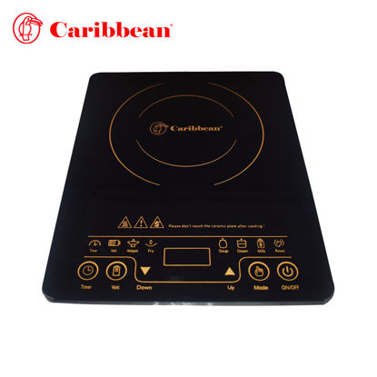 Picture of Caribbean Crystal Plate Induction Cooker CIS-2019 CR