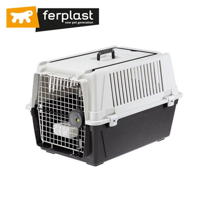 """Picture of Ferplast Carrier Atlas 40 Grey Professional 27""""X19""""X18"""""""