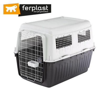 "Picture of Ferplast Carrier Atlas 80 Grey Professional 47""X32""X35"""