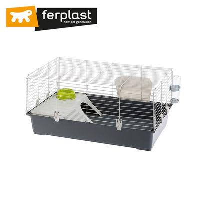 Picture of Ferplast Cage Rabbit 100 Grey