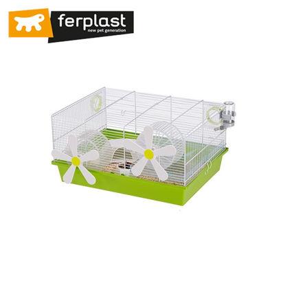 Picture of Ferplast Cage Milos Medium Flowers White