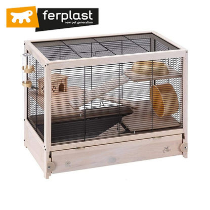 Picture of Ferplast Cage Hamsterville Black