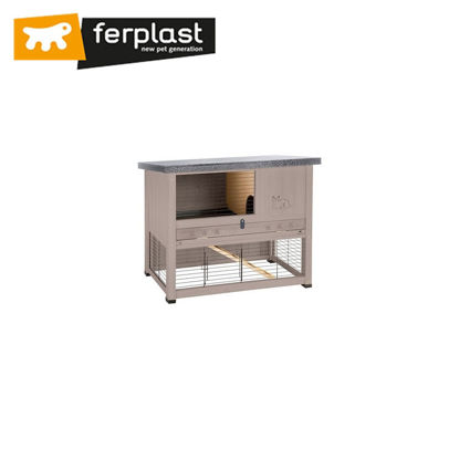 Picture of Ferplast Cage Ranch 100 Restyling Dove/Grey