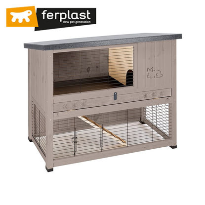 Picture of Ferplast Cage Ranch 120 Basic White/Brown