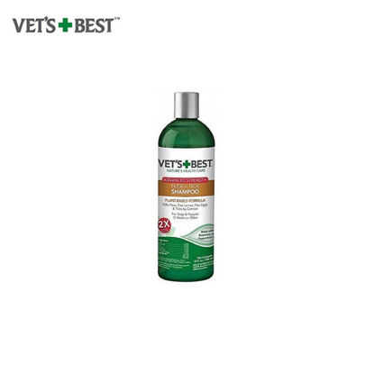 Picture of Vet's Best Flea + Tick shampoo (12 oz)