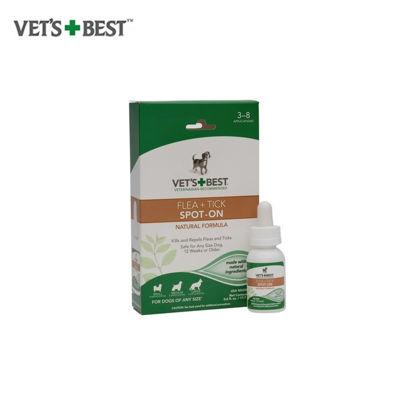 Picture of Vet's Best Flea + Tick Spot-On (0.6 oz)
