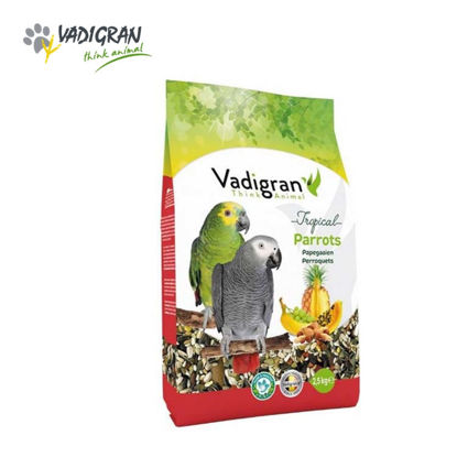 Picture of Vadigran Parrot Tropical 2.5 Kg