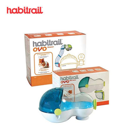 Picture of Habitrail Ovo Loft with Chewable Cardboard
