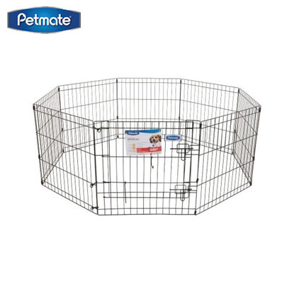 Picture of Petmate Exercise Pen W/Door 42X24 8-Panels