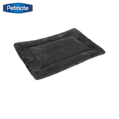 Picture of Petmate 28.5 X 18.5 Kennel Mat ~ Gray 30-50Lbs