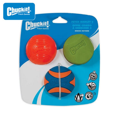 Picture of Chuckit! Fetch Medley Gen 2 Medium - 3-Pack
