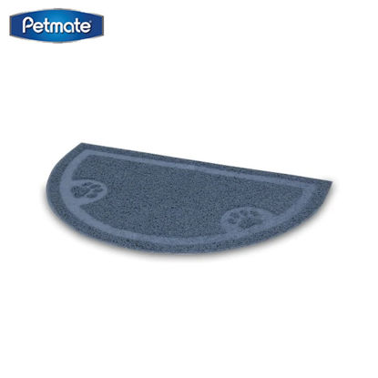 Picture of Petmate Litter Catcher Mat 1/2 Circle Folded / Hanger 6Pk