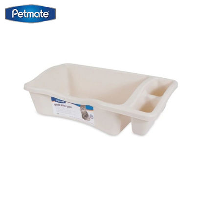 Picture of Petmate Giant Litter Pan 4Pk ~ Bleached Linen