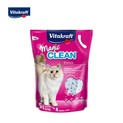 Picture of Vitakraft Magic Clean Cat Litter  Classic 4L