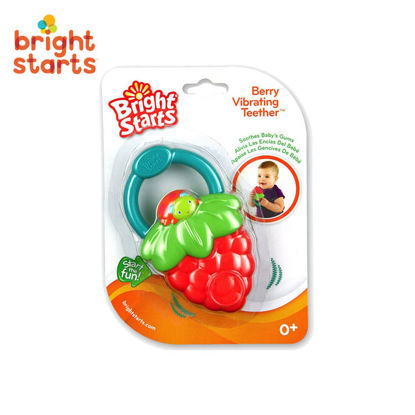 Picture of Bright Starts Vibration/Berry Teether
