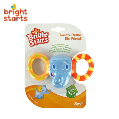 Picture of Bright Starts Twist and Rattle Ele-Friend