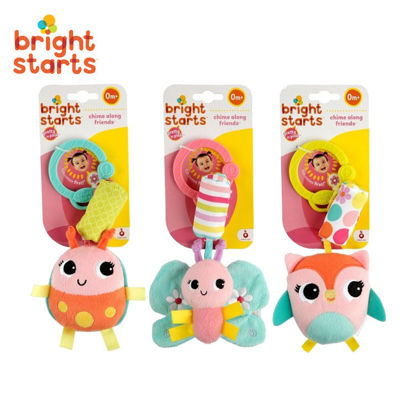 Picture of Bright Starts Pink Chime Along Friends *Randomly Picked*