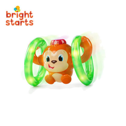 Picture of Bright Starts Roll and Glow Monkey Toys